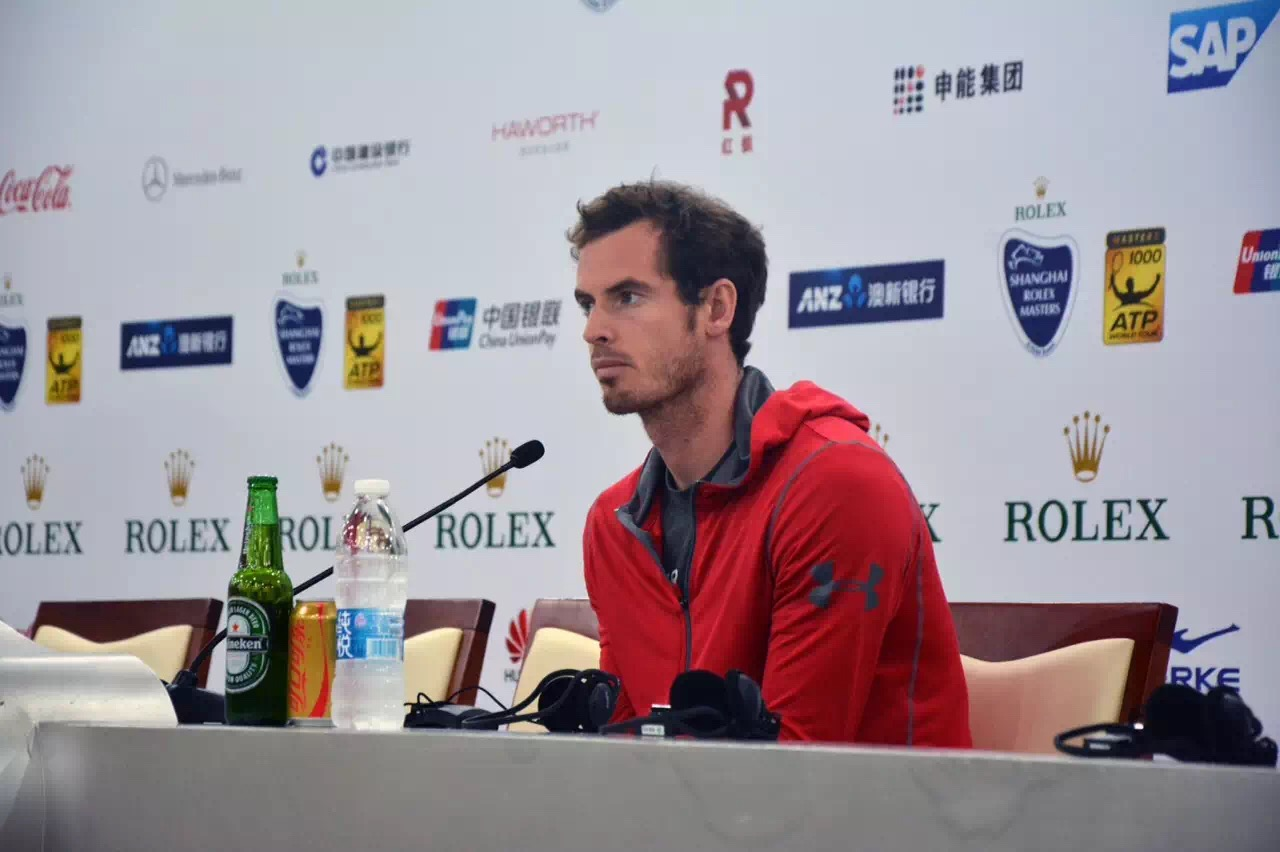 Sports star Andy Murray