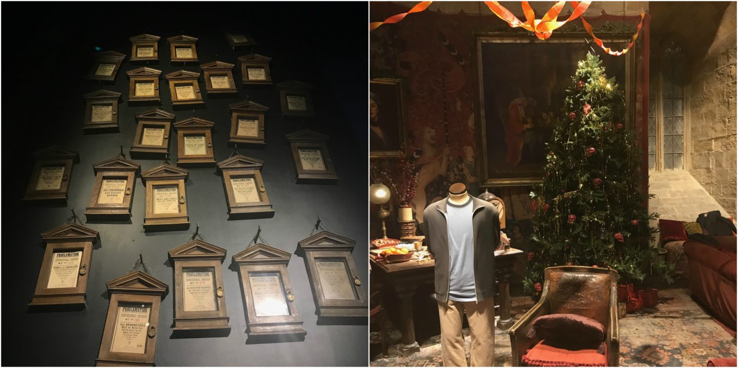 Props from Hogwarts used in the film