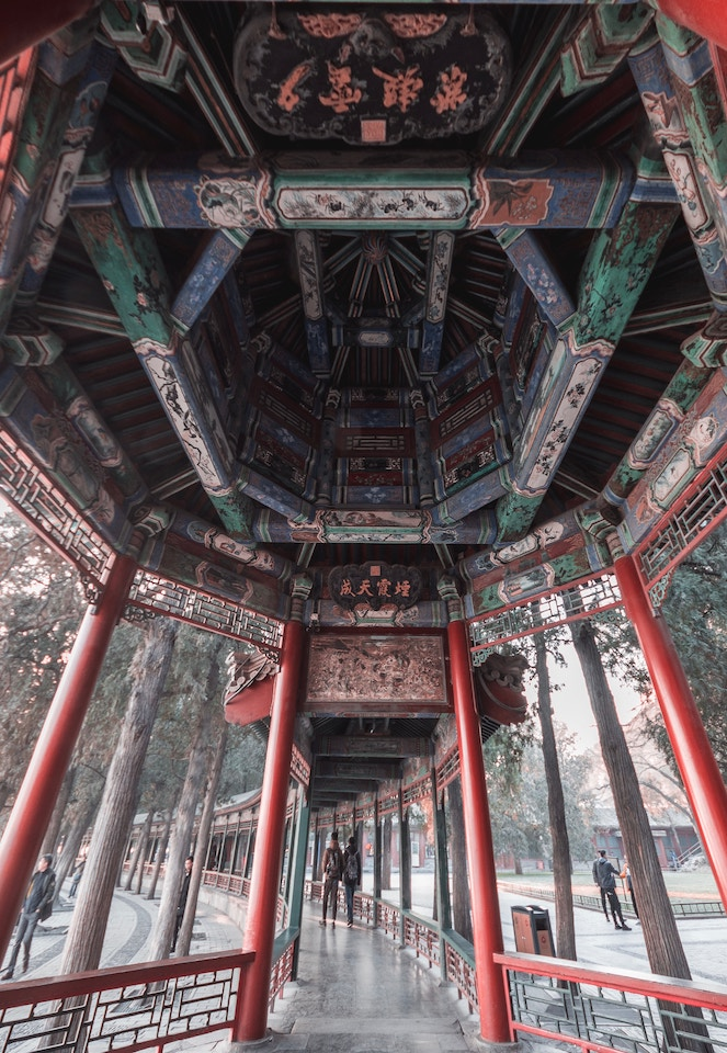 An image of the summer Palace