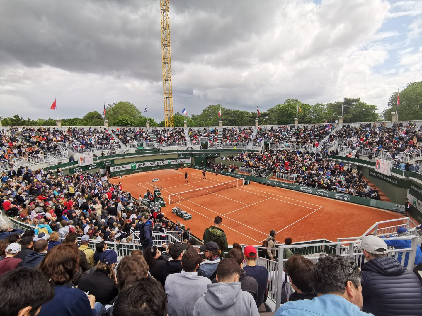 French Open court