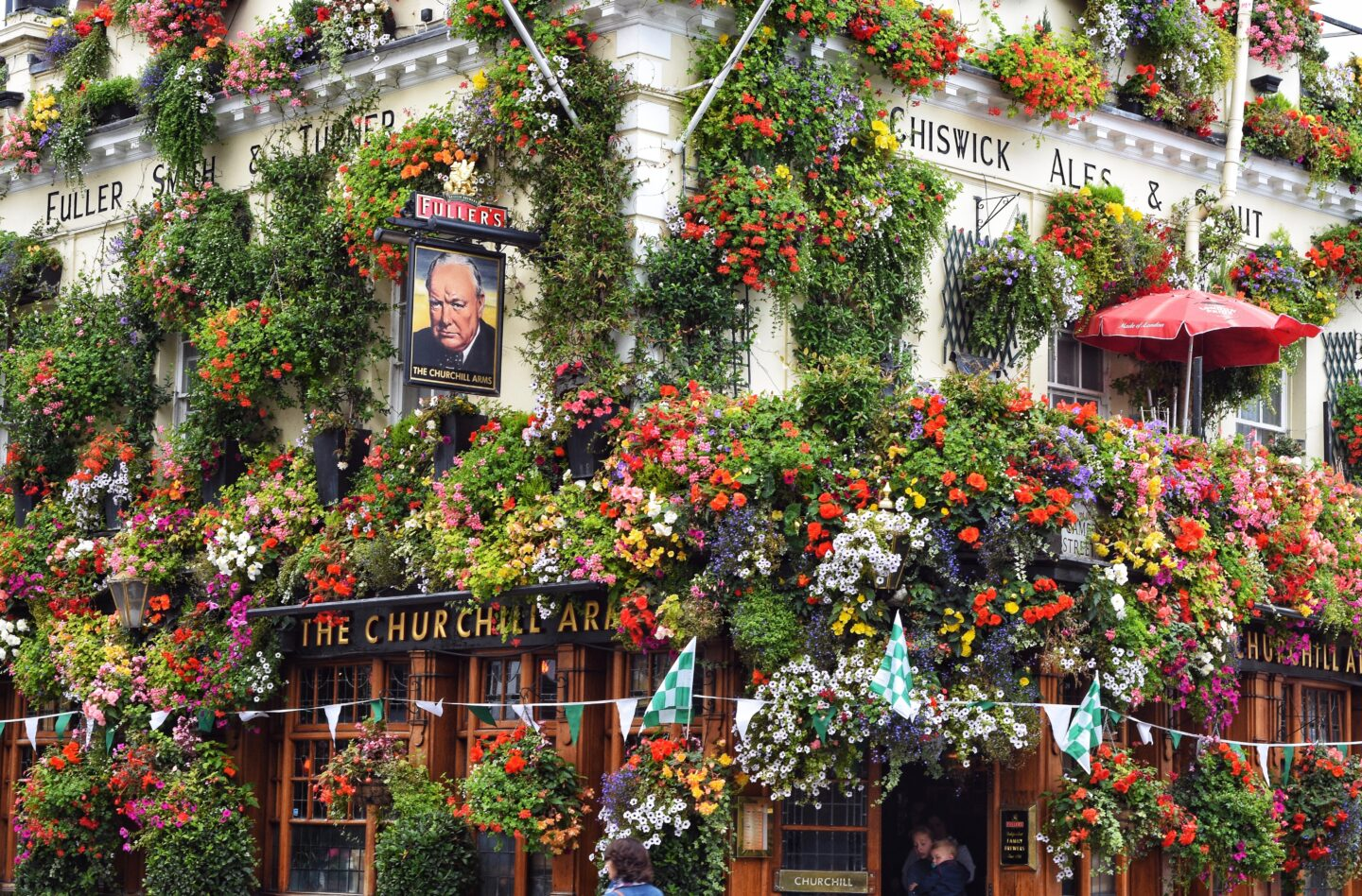 The Churchill Arms pub in Kensington should be on your London bucket list