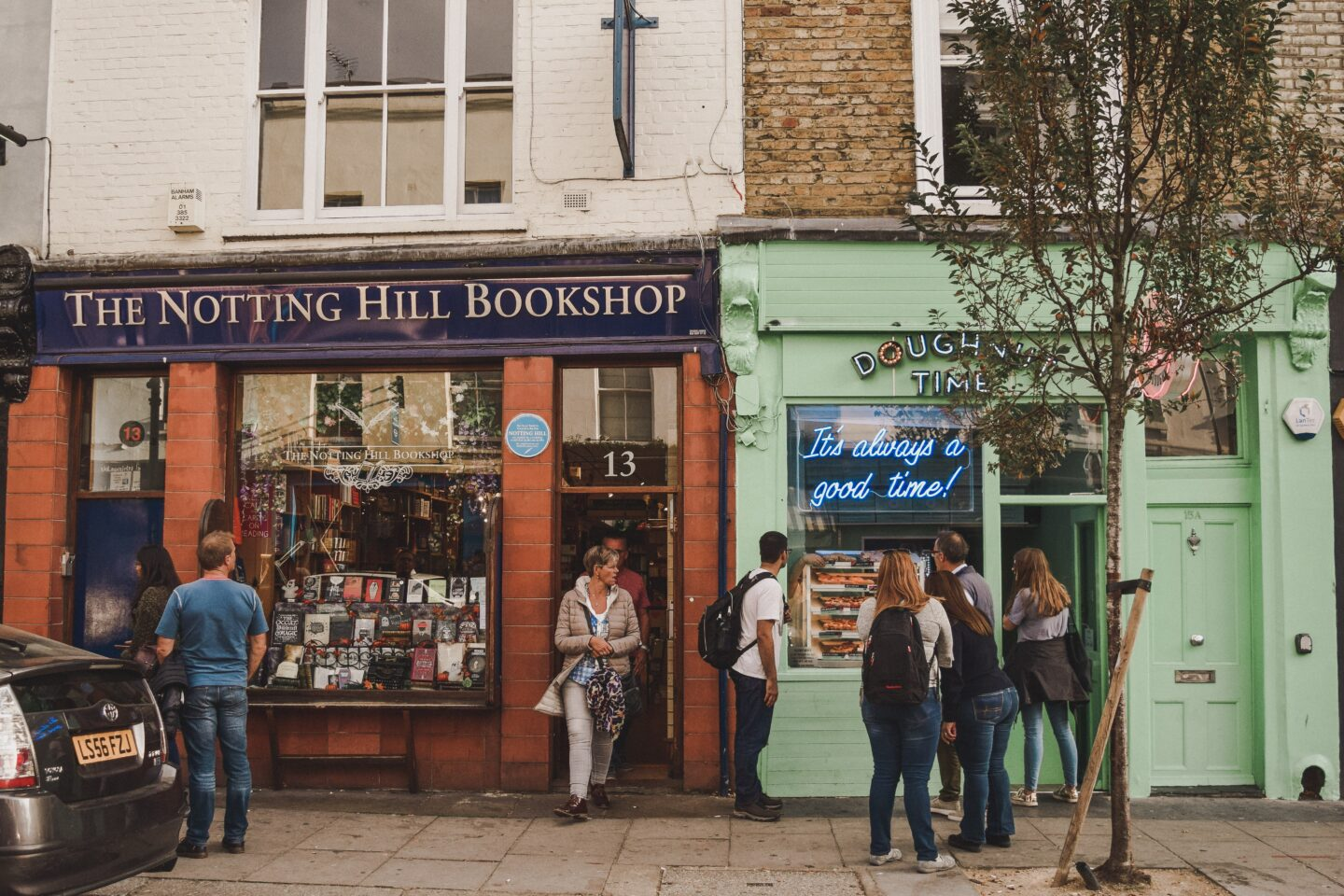 Notting Hill in London should be on your bucket list